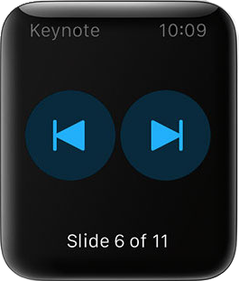 Remote Control for Keynote
